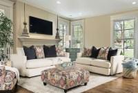 Pomfret Beige Living Room Set from Furniture of America ...