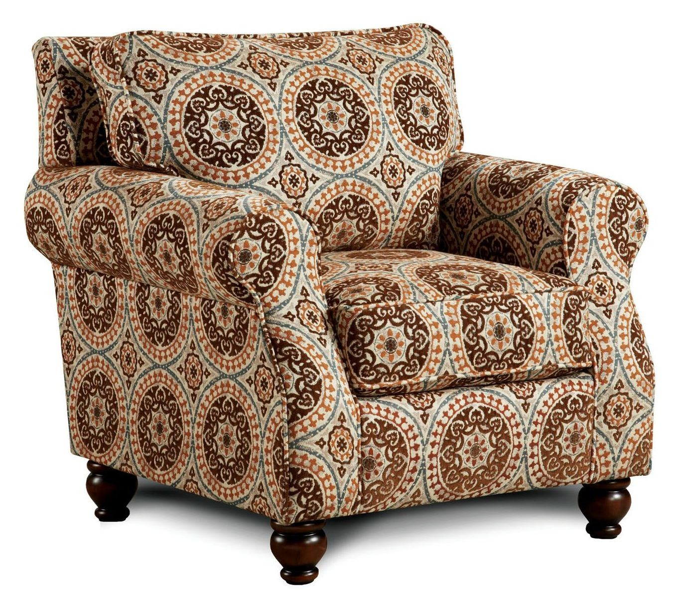 Pattern Chair Adderley Tribal Pattern Accent Chair From Furniture Of