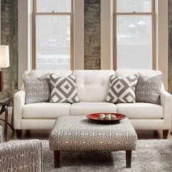 Ivory Sofa Set Custom Made Cover Singapore Parker Living Room From Furniture Of America