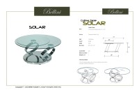 Solar Solar Swivel Glass Coffee Table from Bellini Modern ...