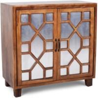 Savannah Deep Golden Pine Accent Cabinet from Steve Silver ...