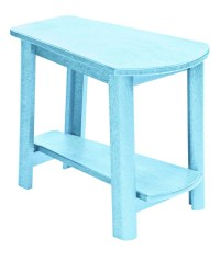 Generations Aqua Tapered Accent Table from CR Plastic (T04 ...