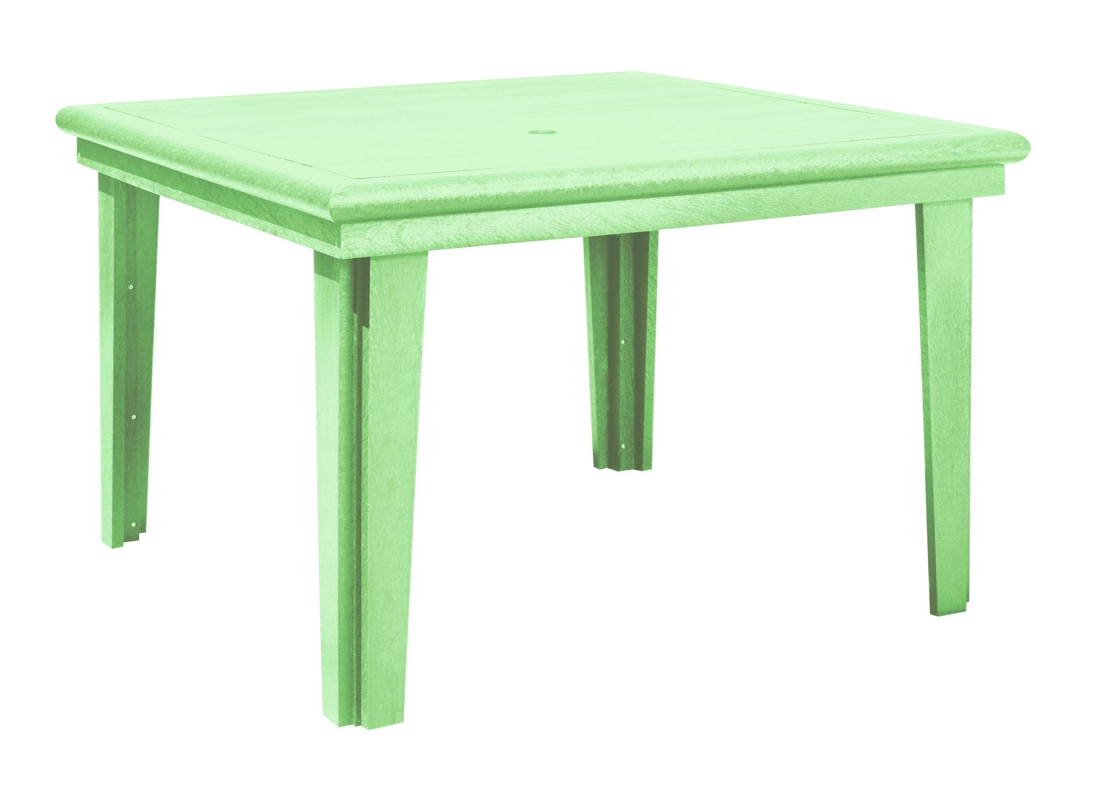 Generations Lime Green 46 Square Dining Table from CR