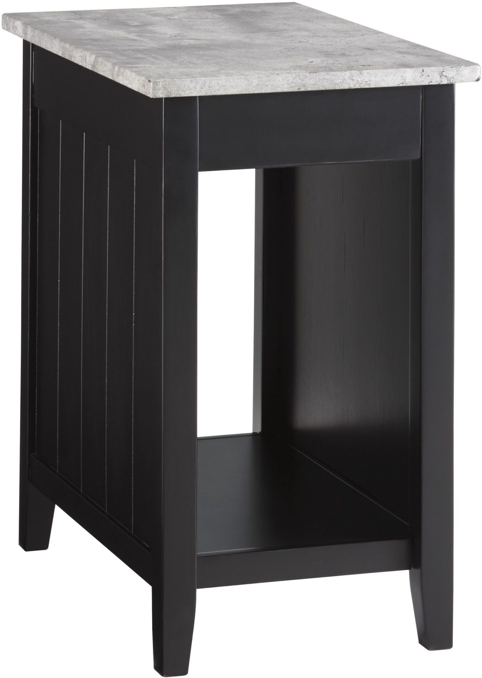 gray chair side table computer target diamenton black and end from ashley