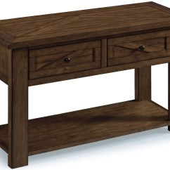 Pine Sofa Tables Sectional Living Room Set Fraser Rustic Wood Rectangular Table T3779 73