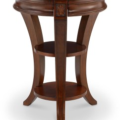 Occasional Table And Chairs Round Swivel Winslet Cherry Accent T4115 35 Magnussen Home