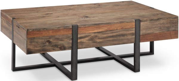 Rectangular Rustic Coffee Table