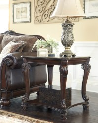 Norcastle Square End Table from Ashley (T519-2) | Coleman ...