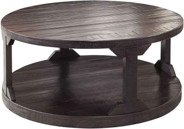 Rustic Round Cocktail Table