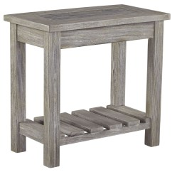 Side Table For Recliner Chair Polywood Rocking Veldar Whitewash End From Ashley T748 7