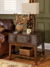 McKenna End Table from Ashley (T753-3)   Coleman Furniture