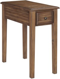 Warm Brown Chair Side End Table from Ashley | Coleman ...