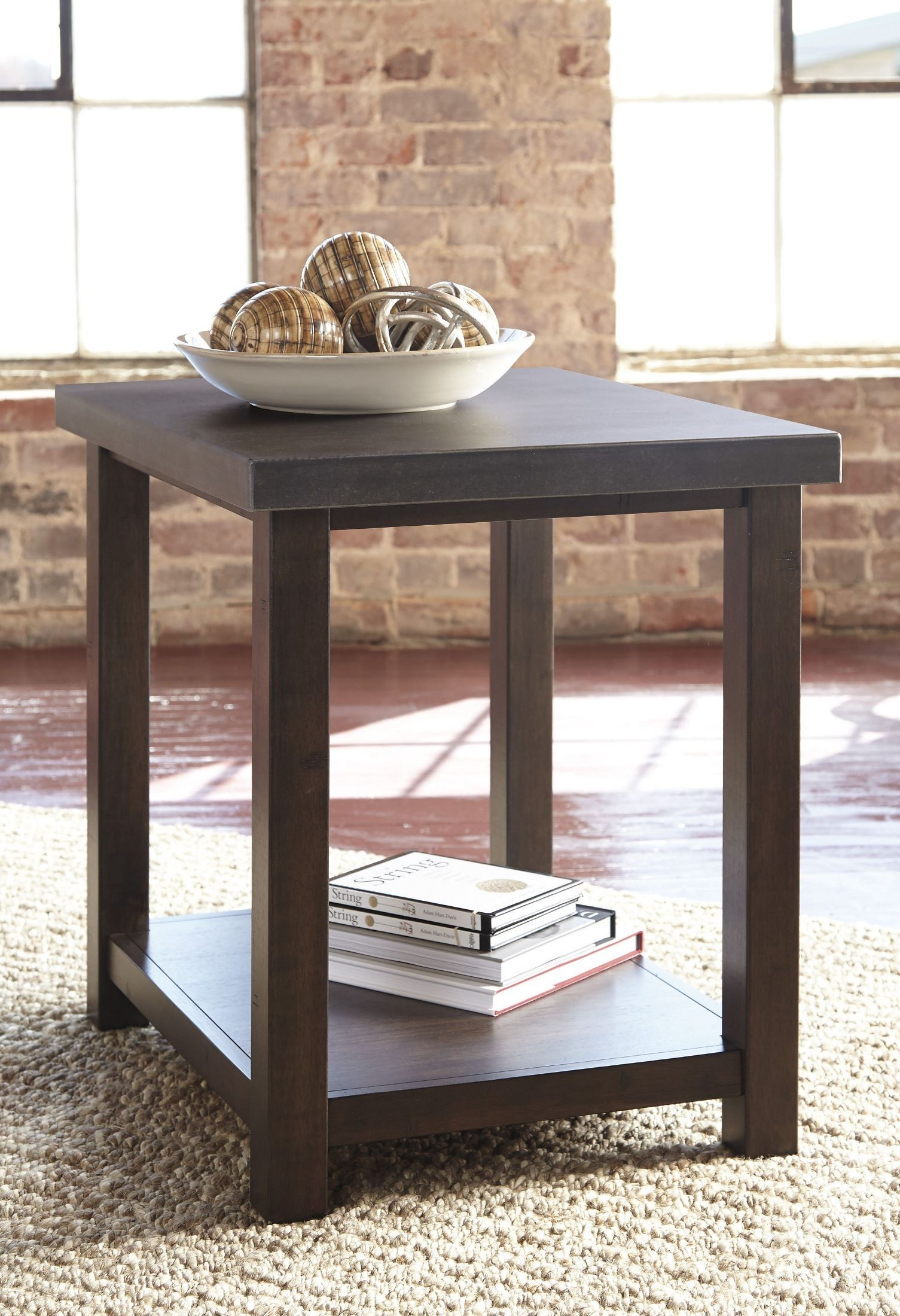 gray chair side table rocker starmore brown chairside end t913 7 ashley