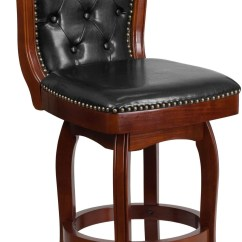 Cherry Wood Chairs Office Chair Qld 26inch Black Swivel High Counter Min