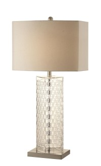 901556 Tall and Thin Clear Glass Table Lamp from Coaster ...