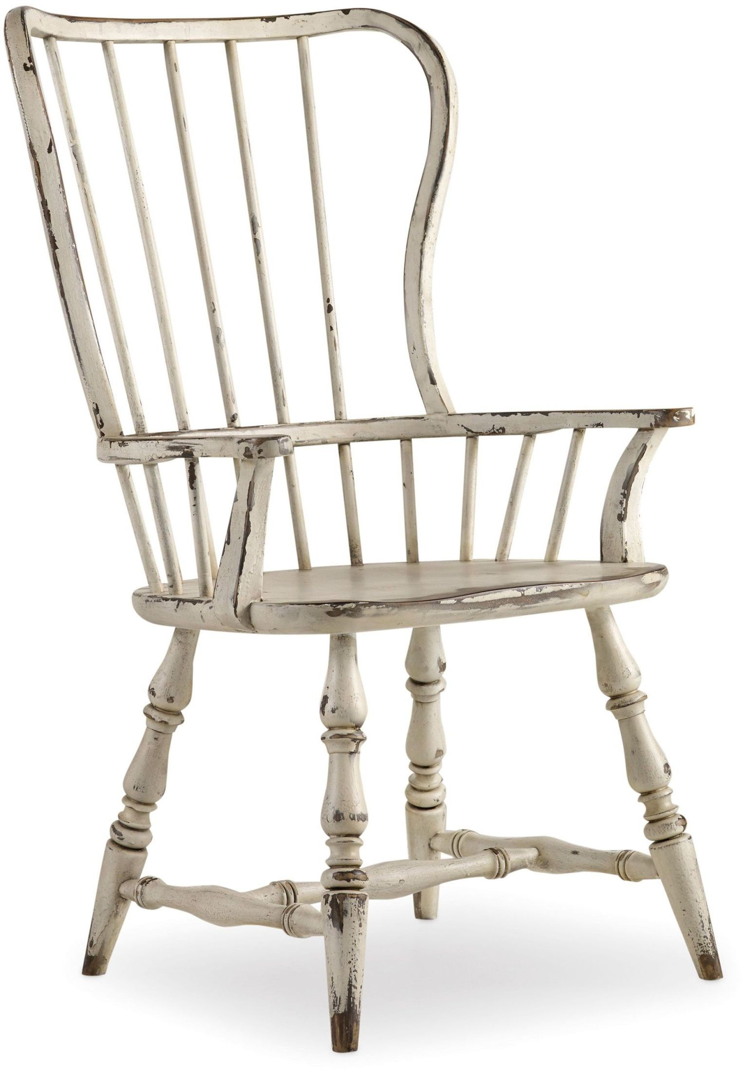 White Arm Chairs Sanctuary White Spindle Back Arm Chair Set Of 2 5403