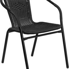 Indoor Outdoor Chairs Oak Ladder Back Black Rattan Restaurant Stack Chair From