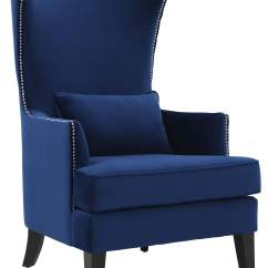 Tall Desk Chairs With Backs Wheelchair Guy Movie Bristol Navy Chair From Tov Coleman Furniture