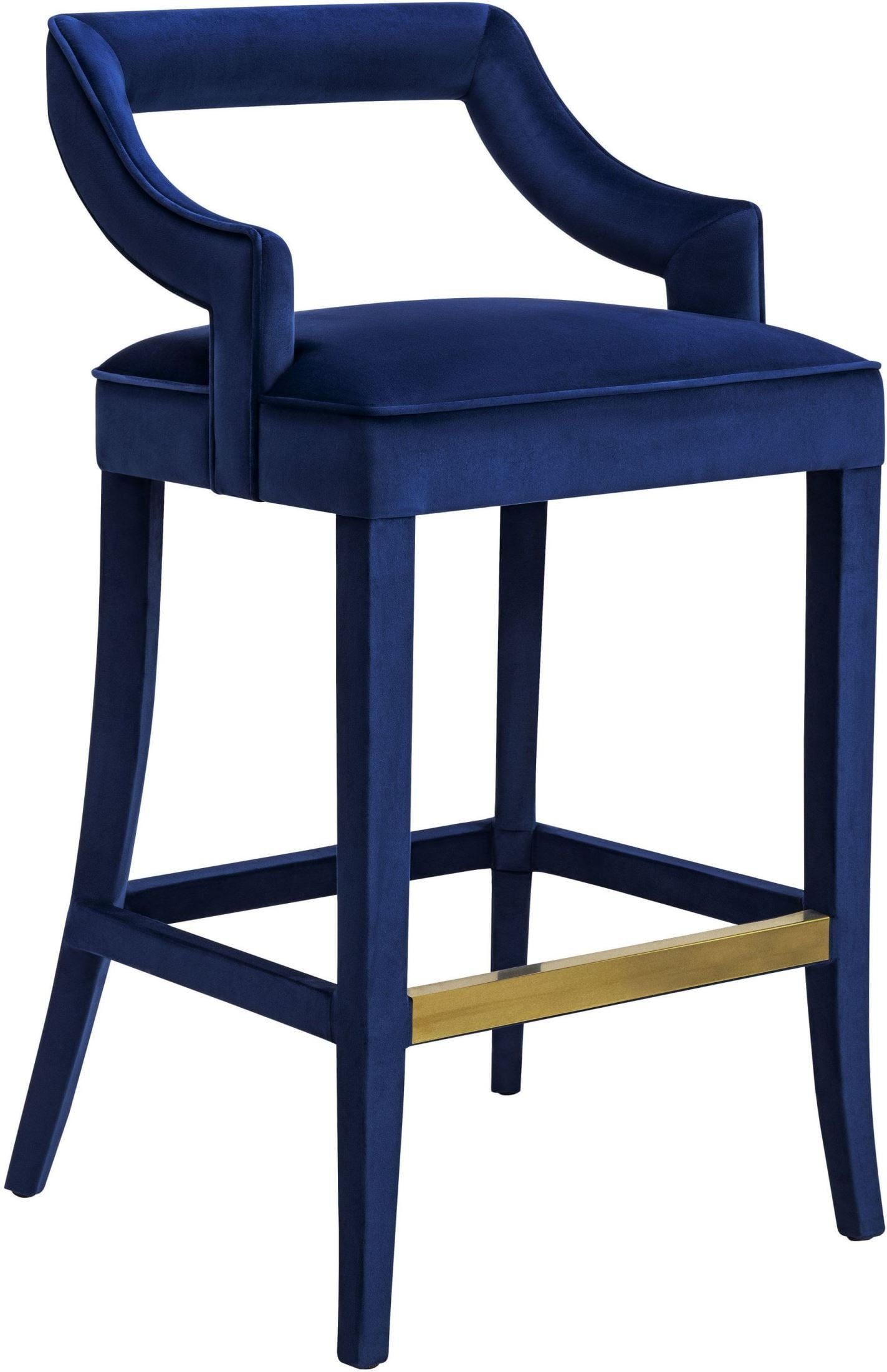 navy chair stool covers on sale tiffany velvet counter from tov coleman furniture