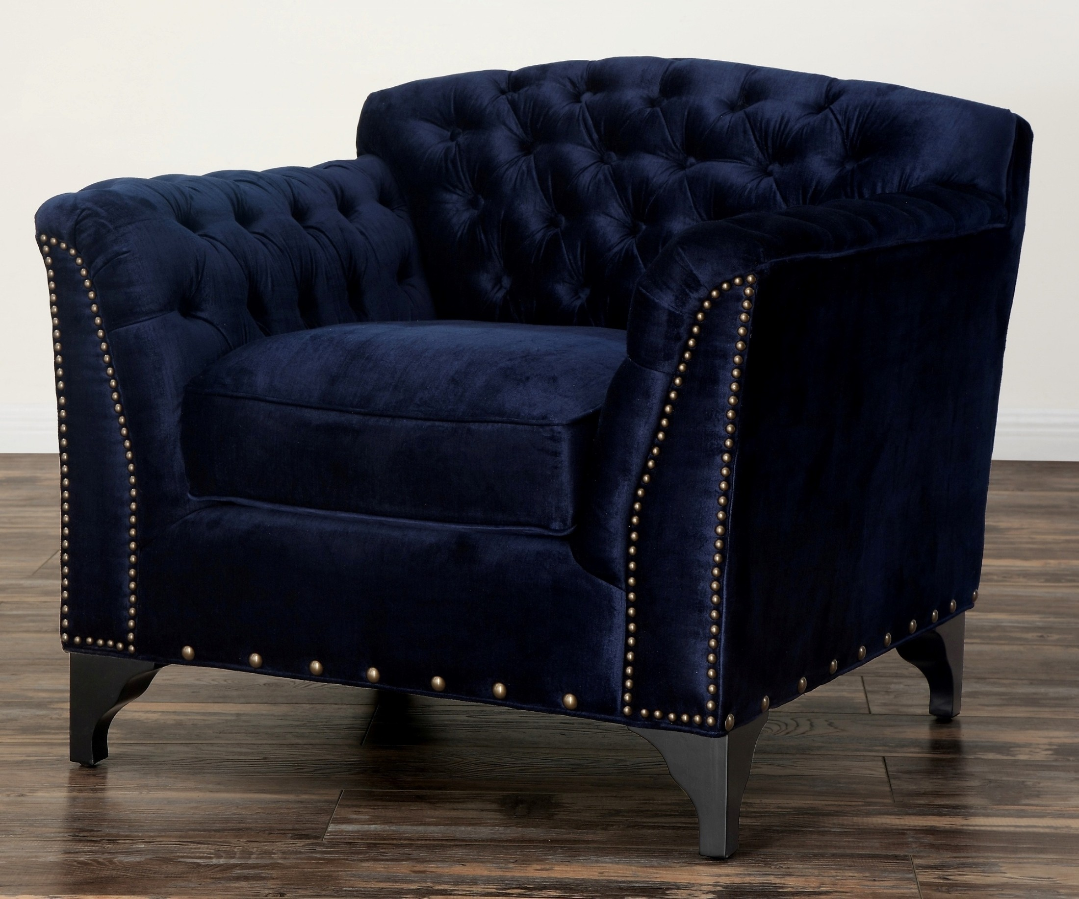 Velvet Club Chair Waterford Navy Velvet Club Chair From Tov Tov C42
