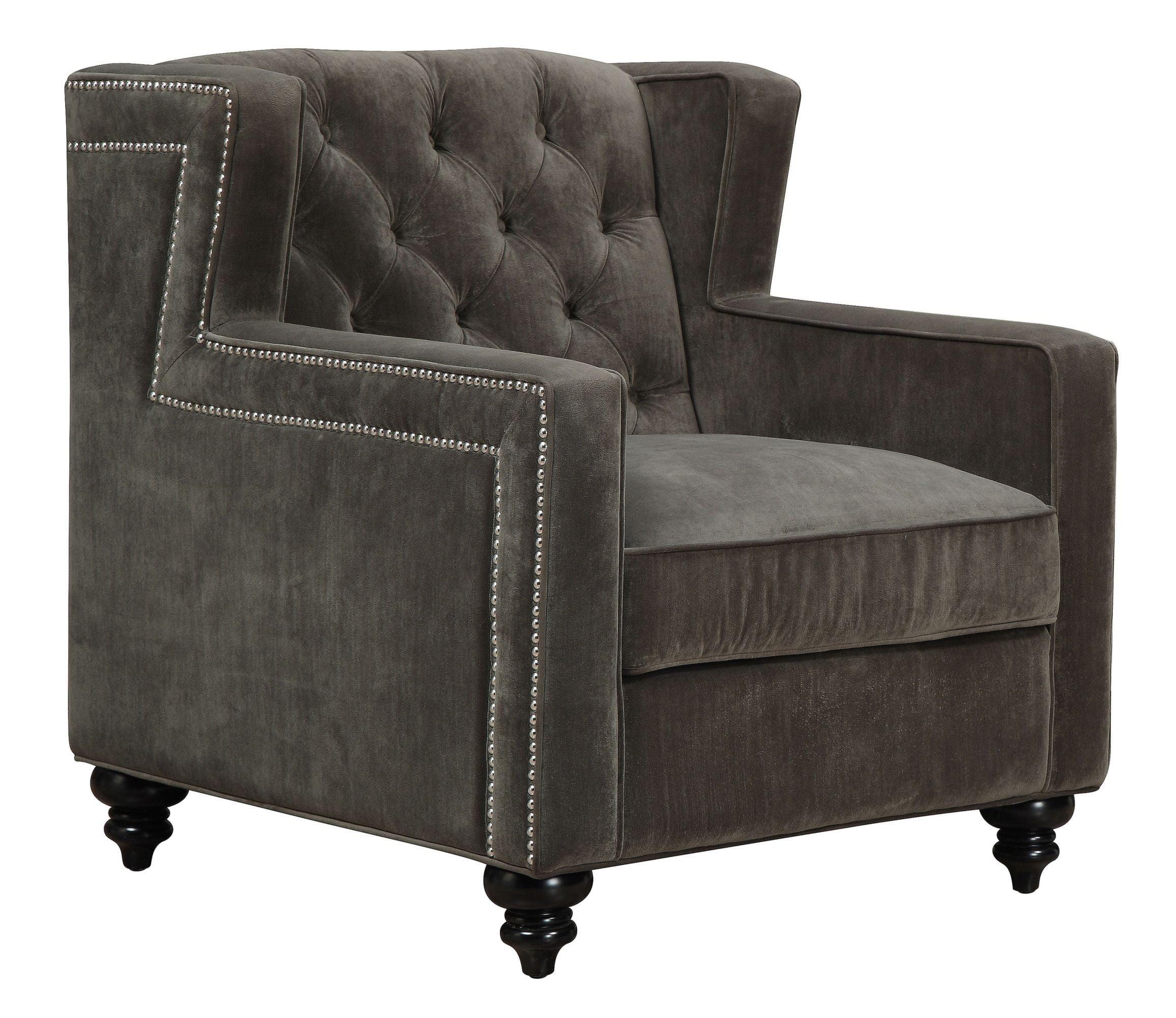 pewter chair high back vinyl sydney velvet from tov c63 coleman furniture