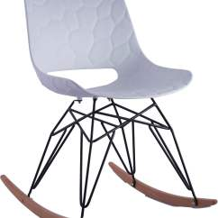 Coleman Rocking Chair Mity Lite Folding Chairs Crescent White From Tov Furniture 2667537
