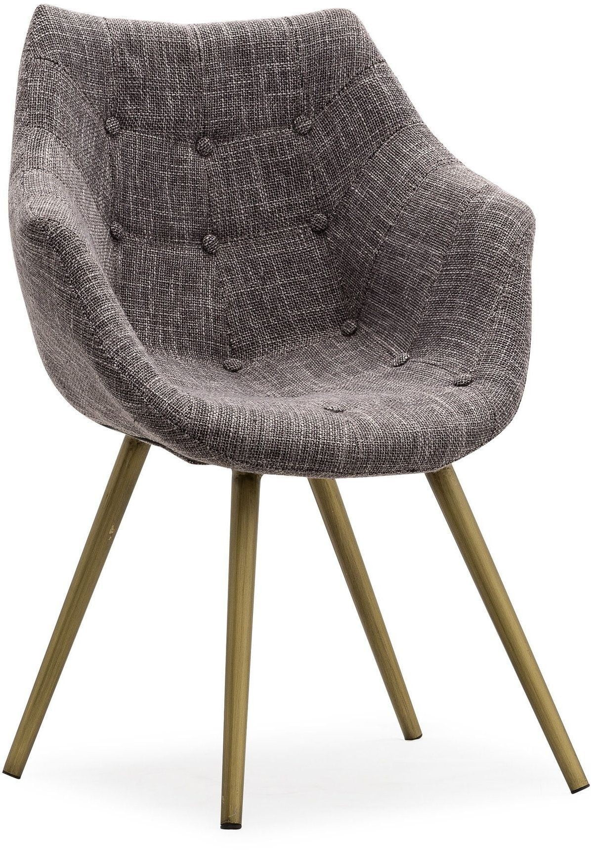 Tweed Chair Finn Grey Tweed Chair G5456 Tov Furniture