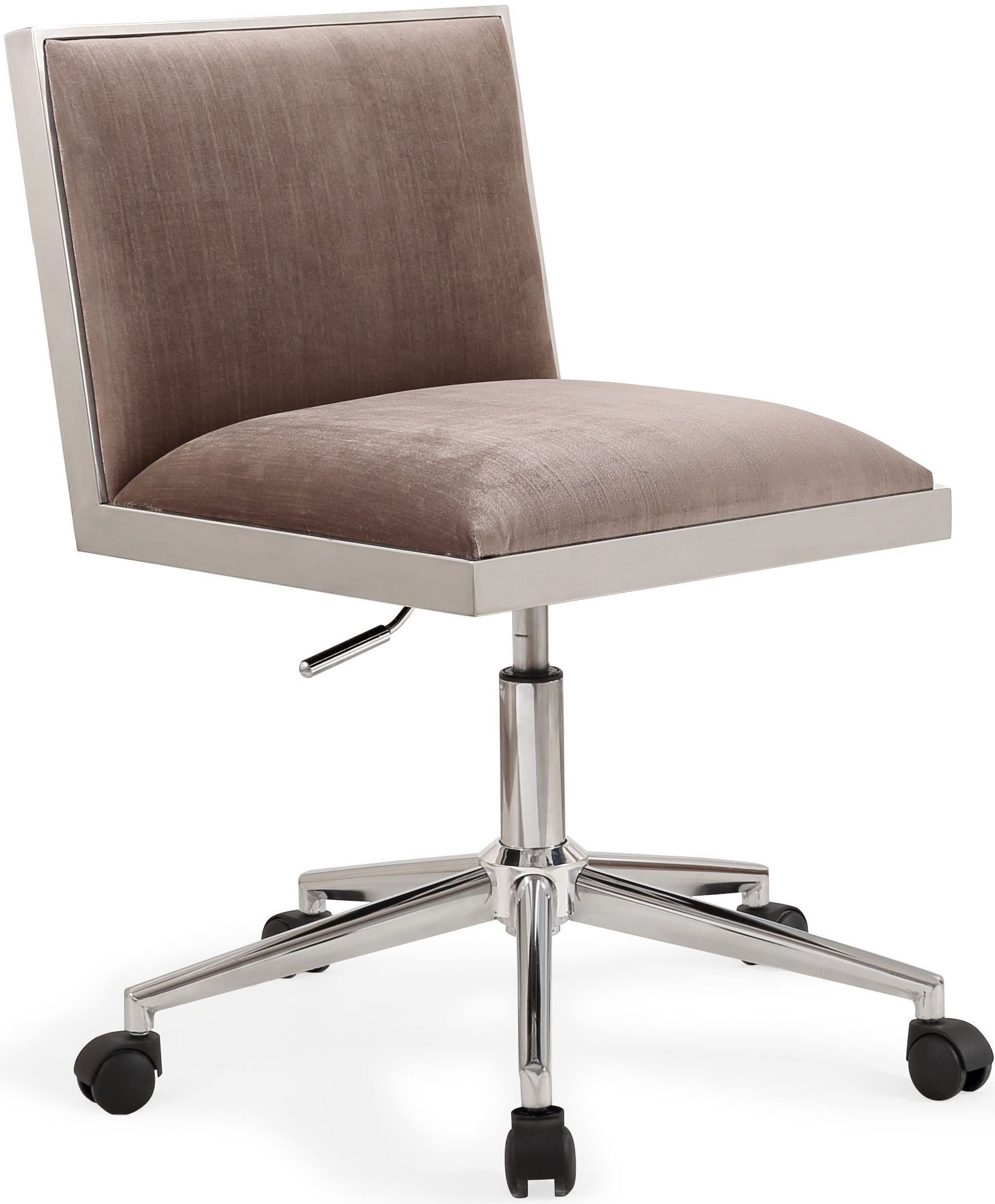 Velvet Desk Chair Harper Silver Velvet Office Chair H3715 Tov Furniture