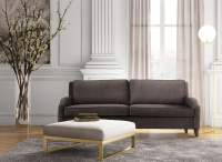 Hartford Gray Linen Sofa from TOV | Coleman Furniture