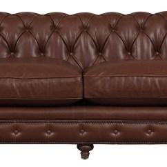 Vintage Leather Sectional Sofa Enveloppe Lk Hjelle Durango Antique Brown S24 02 Tov