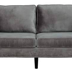 Gray Velvet Slipcover Sofa Upholstered Daybeds That Look Like Sofas Cooper Grey From Tov S29 Coleman Furniture