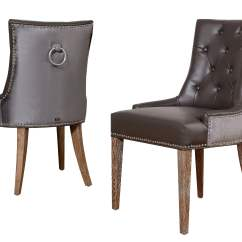 Dining Chair Leather Big Man Covers Uptown Velvet Set Of 2 From Tov Upt
