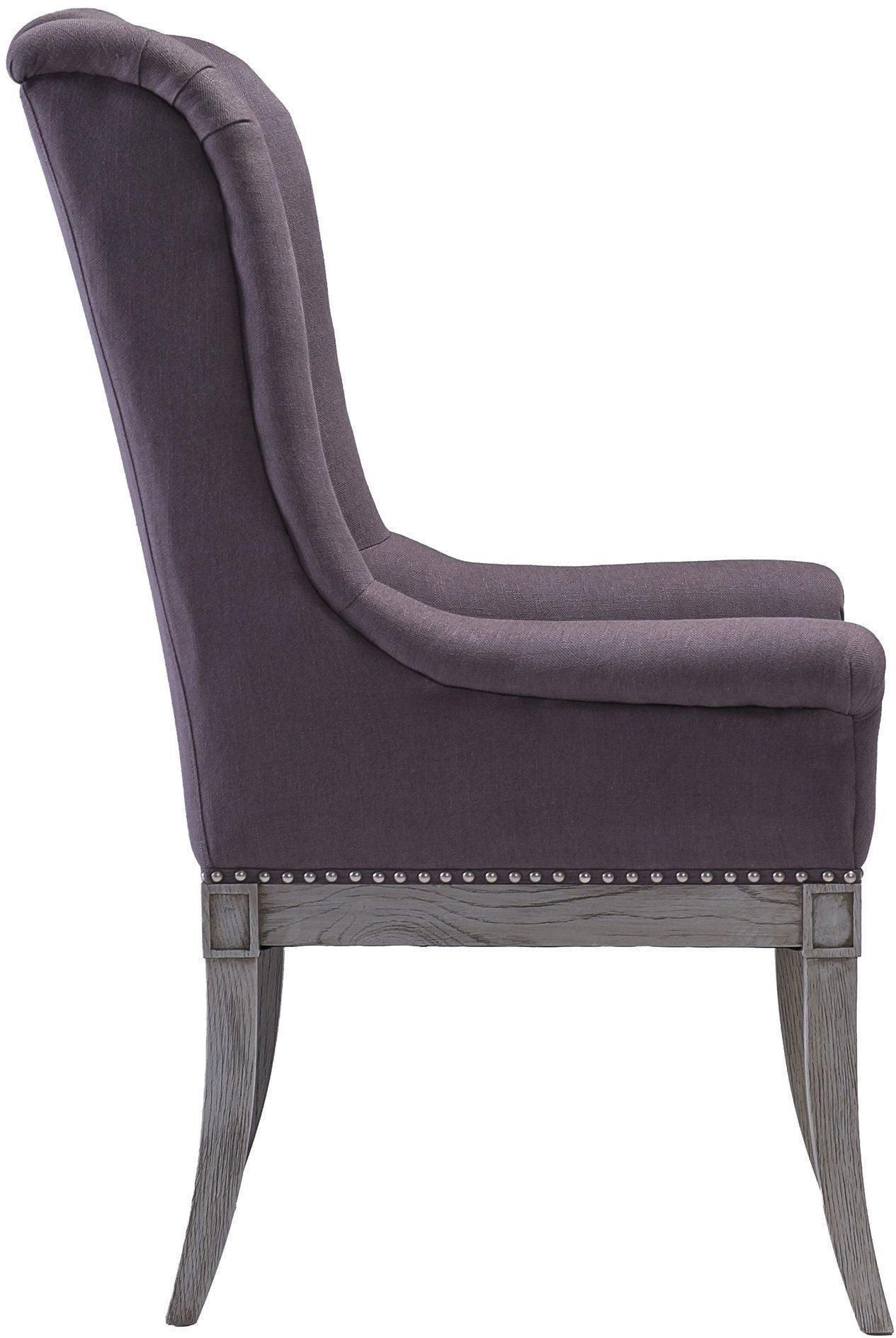 grey arm chair eames accessories addington linen g7208 tov furniture