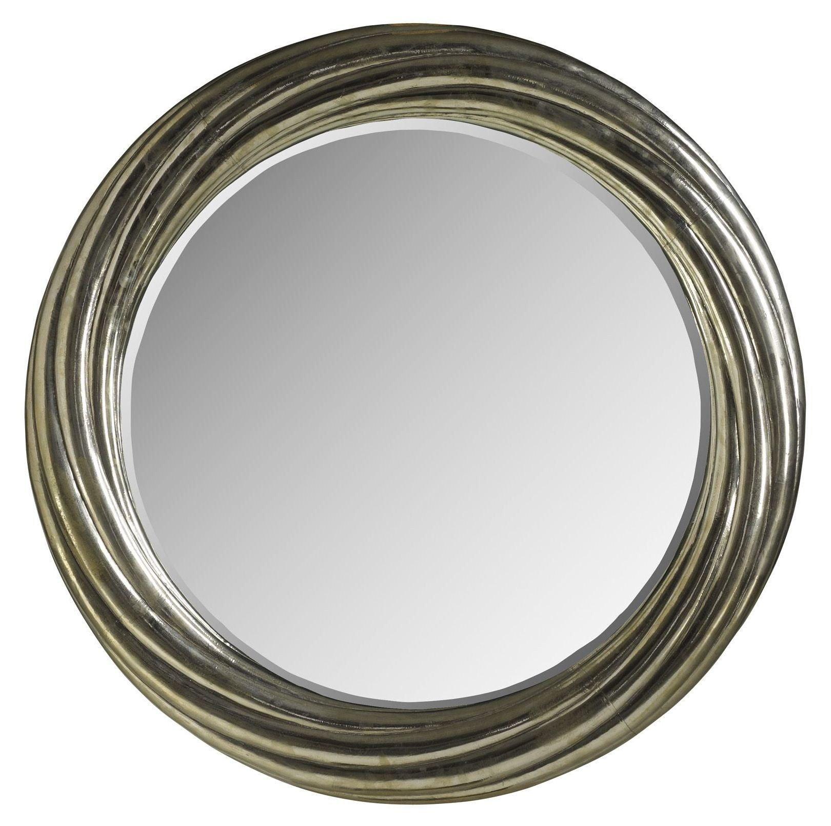 Treviso Small Round Mirror from Brownstone (TR018