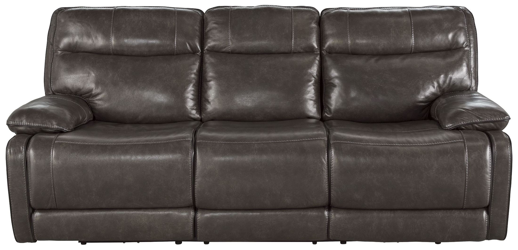 reclining sofa manufacturers usa small beds for es palladum metal power from ashley u7260187