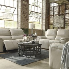 Recliner Sofa Set 3 2 1 Toy Kingdom Bed Valeton Cream Power Reclining Living Room From Ashley