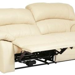 2 Seater Power Recliner Sofa Rattan Indoor Uk Damacio Cream Seat Reclining From Ashley