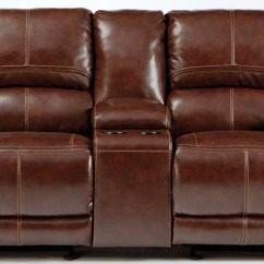 Glider Sofa Fabric Designs Pictures Lenoris Coffee Reclining Loveseat With Console From