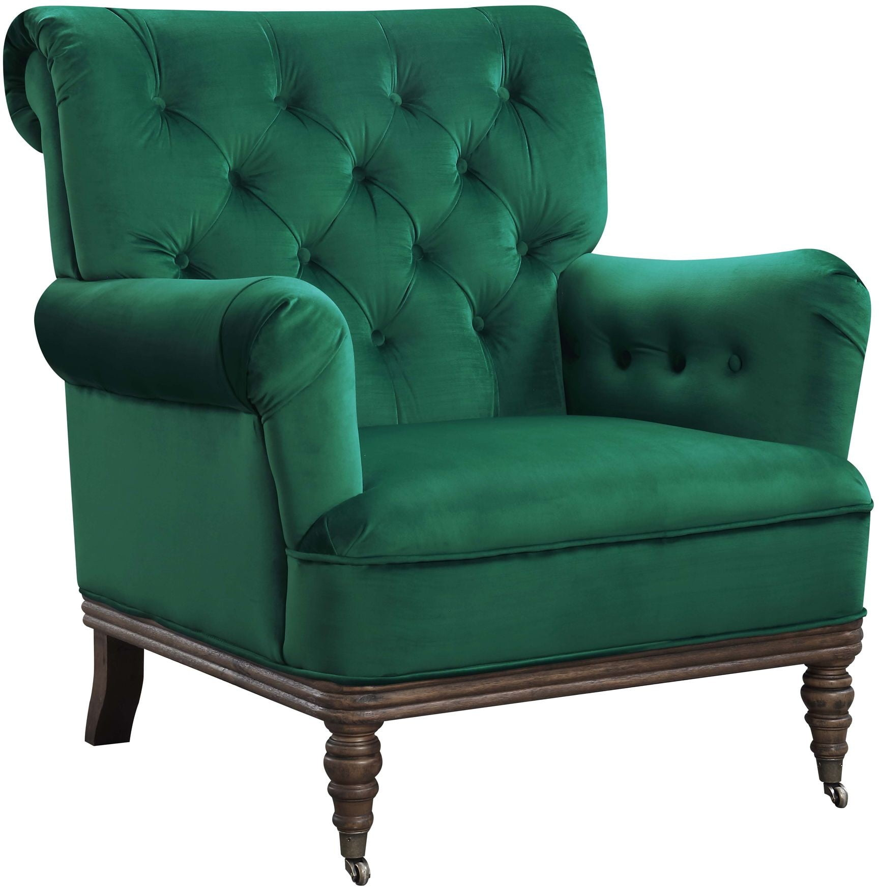 Emerald Green Accent Chair Riveria Emerald Accent Chair