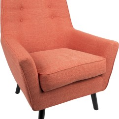 Accent Chair Orange Coca Cola Chairs Vail From Lumisource Coleman Furniture