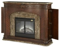 Villagio Marble Top Fireplace With Electric Fireplace ...