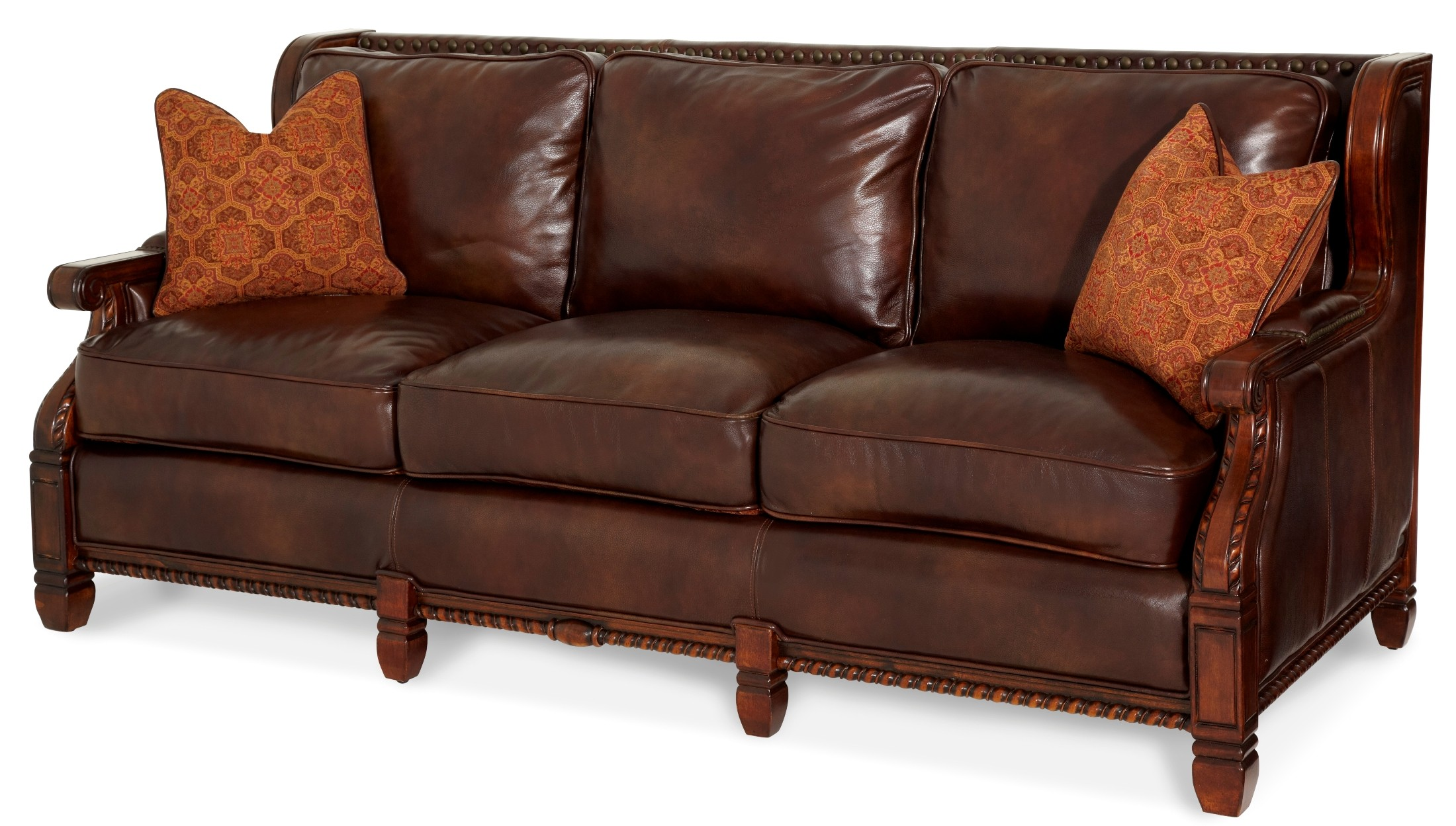 courts sofa best beds under 500 windsor court wood trim by aico furniture