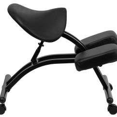 Saddle Seat Chairs Reviews Lowe S Canada Plastic Adirondack Black Ergonomic Kneeling Chair From Renegade