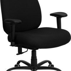 Office Chair Extra Wide Pride Lift Hand Control Hercules 500 Lb Capacity Big And Tall Black