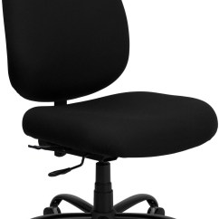 Office Chairs Big And Tall Cherry Wood Dining Hercules 500 Lb Capacity Black Chair