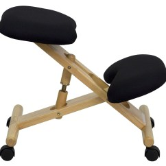 Ergonomic Chair Kneeling Lipper Childrens Table And Chairs Mobile Wooden Black From Renegade