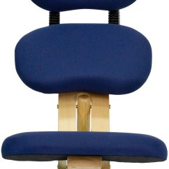 Ergonomic Chair Kneeling Review Spray Paint Vinyl Wooden Office With Reclining Back