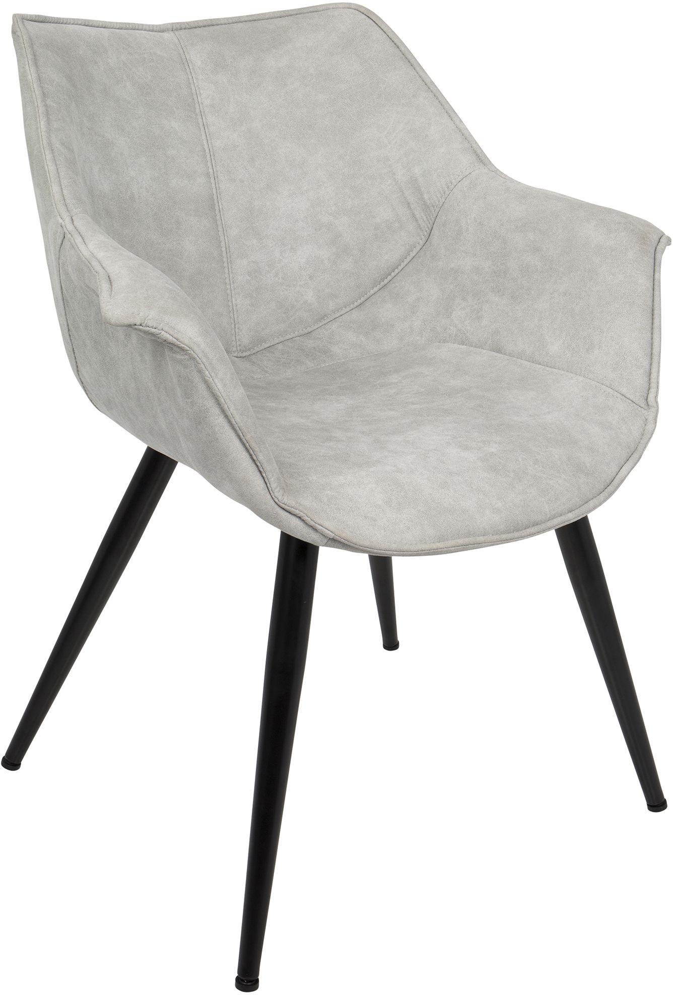 Light Gray Accent Chairs Wrangler Light Gray Accent Chair Set Of 2 From Lumisource