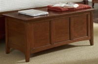 Westlake Cherry Brown Storage Bedroom Set from A