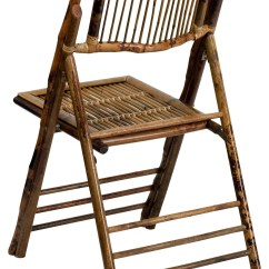 Bamboo Folding Chair Old School Barber American Champion From Renegade X